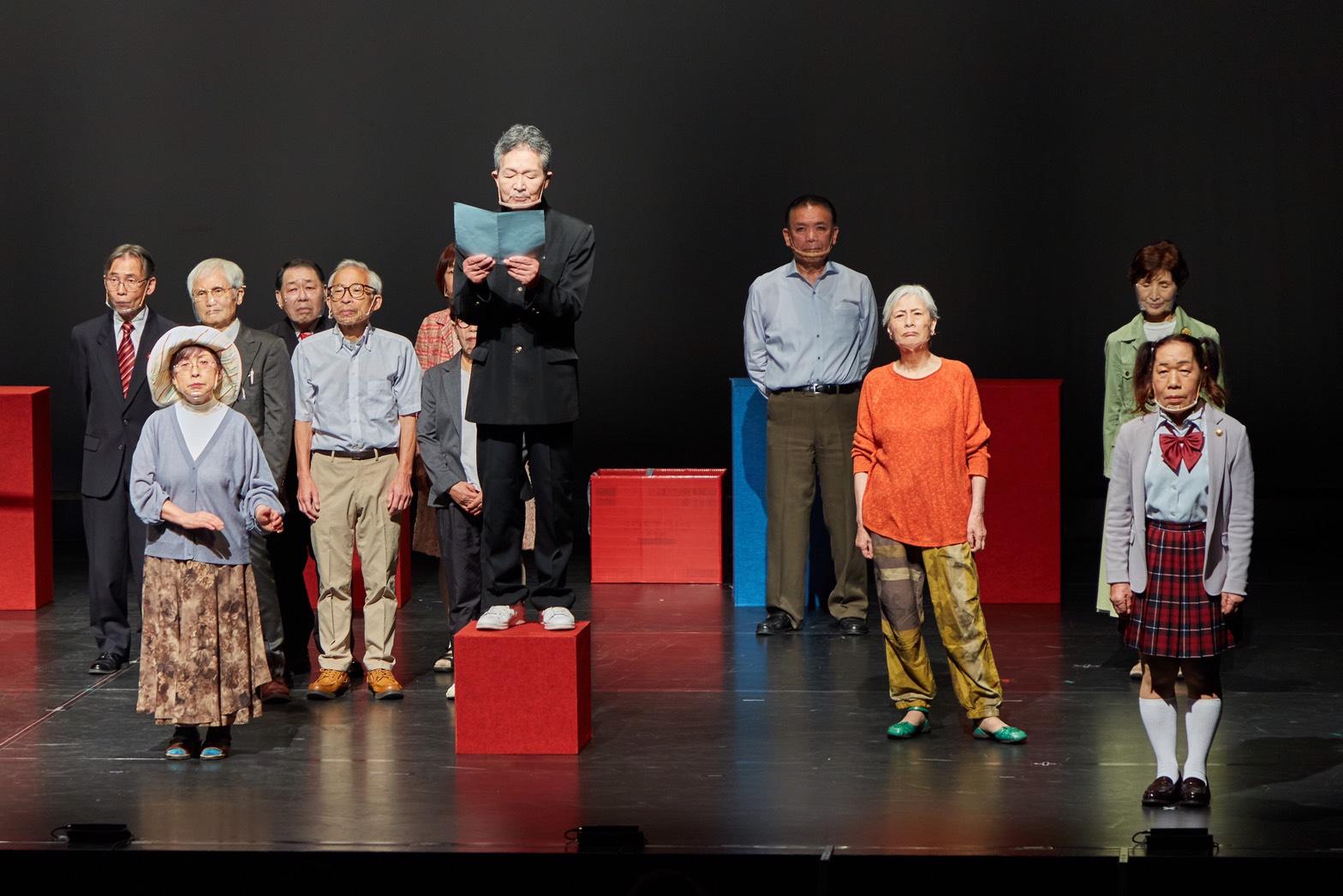 第14回公演「パリテ!」(全国シニア演劇大会in Tokyo参加作品)